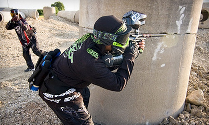 Defcon Paintball - Hillcrest Village: Four-Hour Paintball Outing for Two or Four with Gear Rental and Ammo at Defcon Paintball (Up to 85% Off)