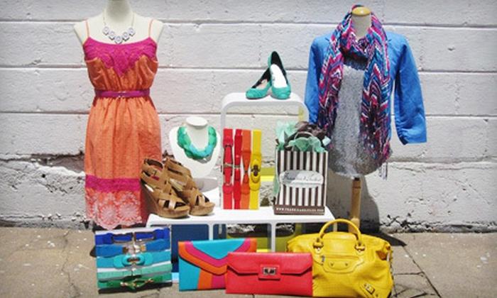 Frankie & Jules - Overland Park: $25 for $50 Worth of Women's Boutique Apparel at Frankie & Jules in Overland Park