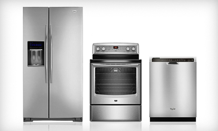 Dracut Appliance Center - Multiple Locations: Home Appliances at Dracut Appliance Center (Up to 58% Off). Two Options Available.