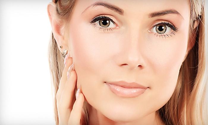 Susie Organic Skincare - Susie Organic Skin Care: Triple-Peel Facial or Microcurrent Nonsurgical Face Lift at Susie Organic Skincare
