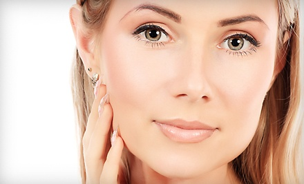 Microcurrent Nonsurgical Face Lift (a $90 value) with LED-Light Therapy (a $25 value; a $115 total value) - Susie Organic Skincare in Denver