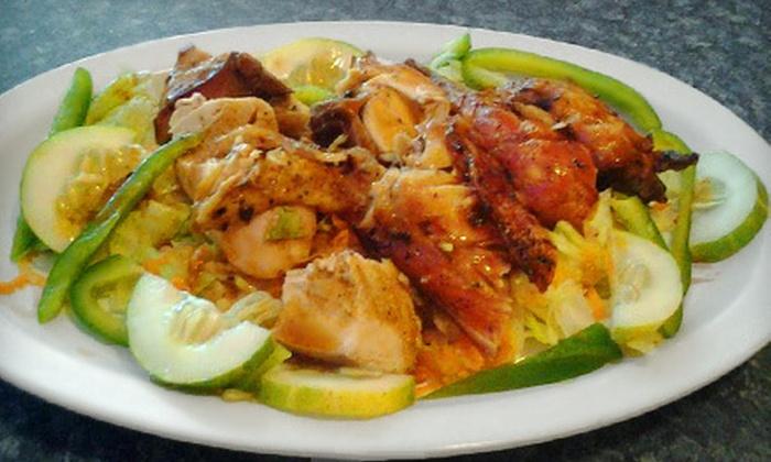 Big Taste Caribbean Restaurant - Barclay Square North: $20 Worth of Jamaican Cuisine