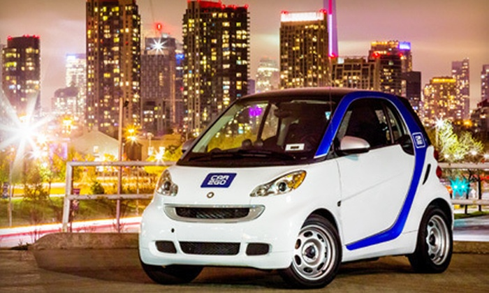 car2go: $17 for Car-Sharing Registration and 60 Minutes of car2go Drive Time (Up to $56 Value)