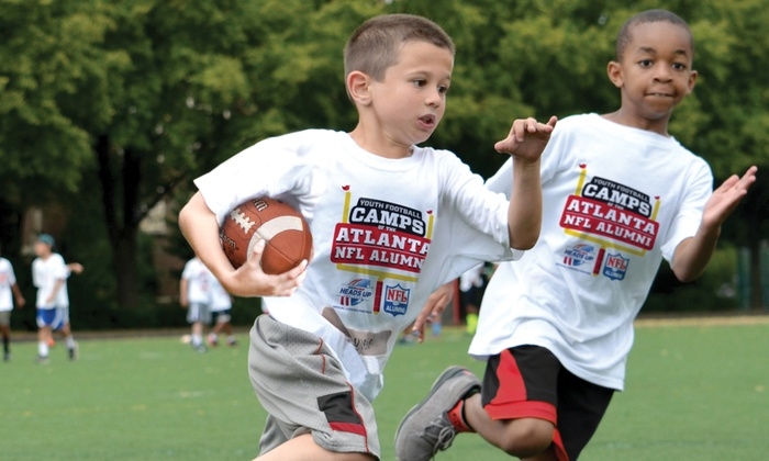 Atlanta NFL Alumni Hero Youth Football Camps - Multiple Locations: Atlanta NFL Alumni Hero Non-Contact Youth Football Camp Instruction for Ages 6–14 (5-Day Camp)