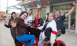 Milwaukee Seven Seat Bike Tours: Up to 50% Off Ghastly History of the Eastside  at Milwaukee Seven Seat Bike Tours
