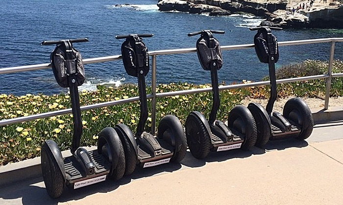 We Love Tourists - Multiple Locations: Choice of Segway Tour of San Diego or La Jolla, or Advanced Tour of La Jolla from We Love Tourists (Up to 67% Off)