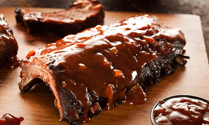 Rib City  - Grant-Valkaria: Barbecue and Drinks at Rib City (Up to 43% Off). Two Options Available.