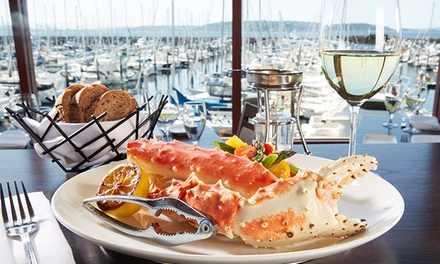 Seafood, Steak, and Craft Cocktails at Palisade (Up to 20% Off). Two Options Available.