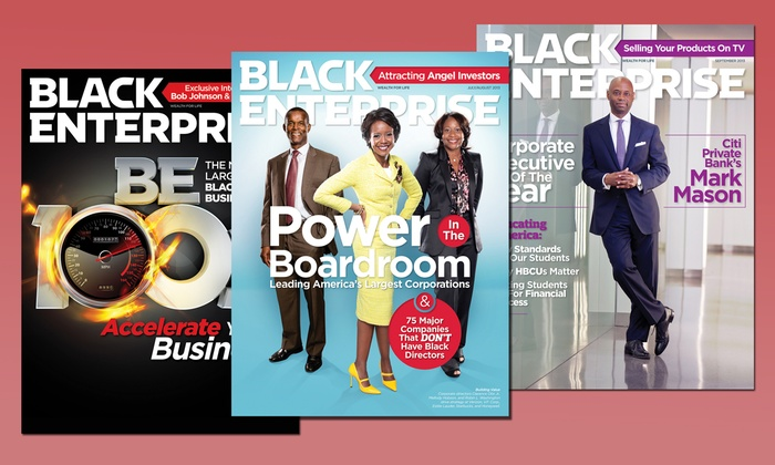 """Black Enterprise - Dallas: One- or Two-Year Subscription to """"Black Enterprise Magazine"""" (Up to 67% Off)"""