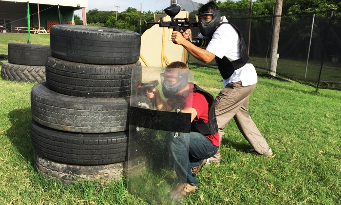 Paintball Next Inside DFW Adventure Park - Paintball Next Inside DFW Adventure Park: Paintball Outing for 10 at Paintball Next Inside DFW Adventure Park (Up to 65% Off)