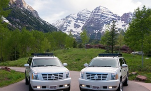 ASE Limousine Service: One-Way Airport Transportation from ASE Limousine Service (44% Off)