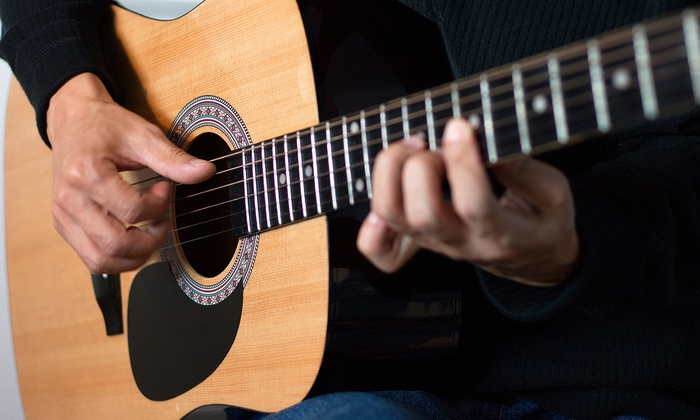 Max Axe Guitars - Glenvar Heights: One or Three Guitar Lessons with $100 or $200 Toward a New Guitar at Max Axe Guitars (Up to 72% Off)