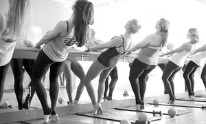 Neighborhood Barre: Three or Five Barre Fitness Classes at Neighborhood Barre (Up to 61% Off)