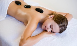 Monika hair and beauty: One-Hour Hot Stone or Swedish Massage at Monika Hair and Beauty (53% Off)