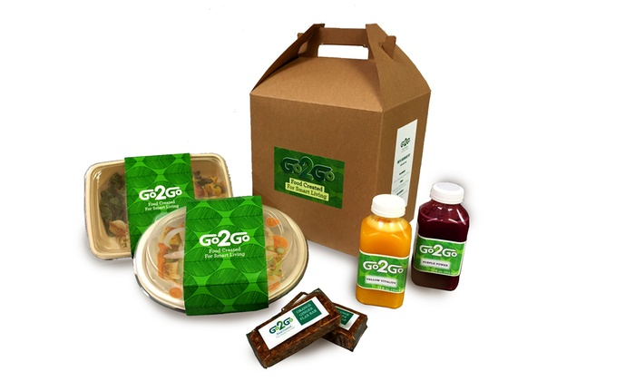 Go2Go - Go2Go: $99 for Five Days of Home-Delivered Healthy Meals from Go2Go ($229 Value)