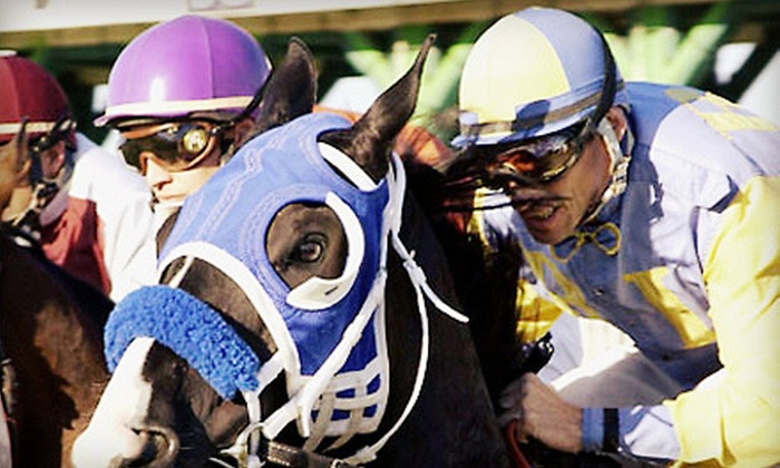Sam Houston Race Park - Sam Houston Race Park: Racing Event for Four or Private Suite for Up to 20 People at Sam Houston Race Park (Up to 51% Off)
