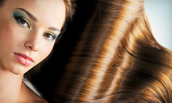Society Salon - Downtown Reno: Haircut and a Deep-Conditioning Treatment with Option for Partial or Full Highlights at Society Salon (Up to 68% Off)