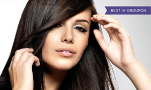 Yazmin Facebody: One or Three Moroccanoil Blowouts at Yazmin Facebody (Up to 64% Off)