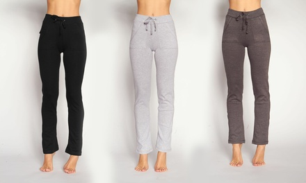 Women's French Terry Drawstring Pants