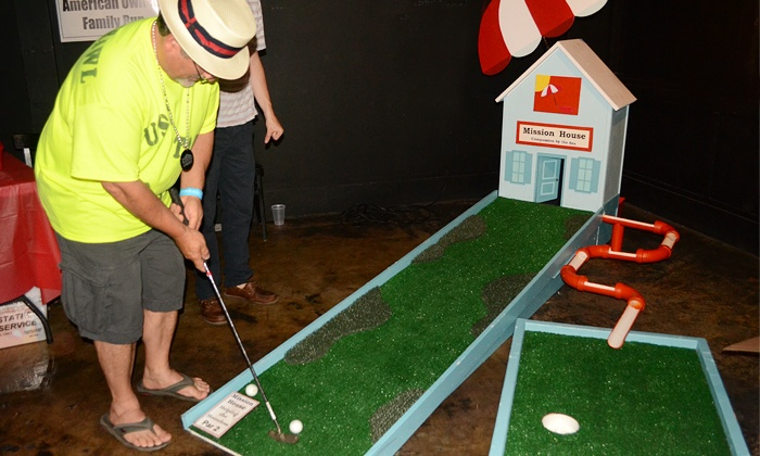 Putt N' Crawl - Downtown Jacksonville Course: Entry for One, Two, or Four to the Putt N' Crawl Mini-Golf Bar Crawl on  September 13 (Up to 55% Off)