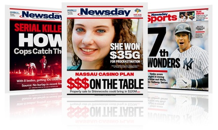 26- or 52-Week Newsday Subscription and Choice of Derek Jeter or Islanders Souvenir Book (70% Off)