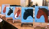 My Horses Art - Huntsville: Pony- or Puppy-Painting Class for One or Two at My Horses Art (Up to 53% Off)