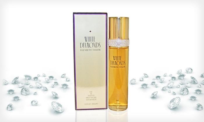White Diamonds by Elizabeth Taylor: $26 for a 3.4-Ounce Bottle of White Diamonds by Elizabeth Taylor Eau de Toilette ($64.50 List Price). Free Shipping.