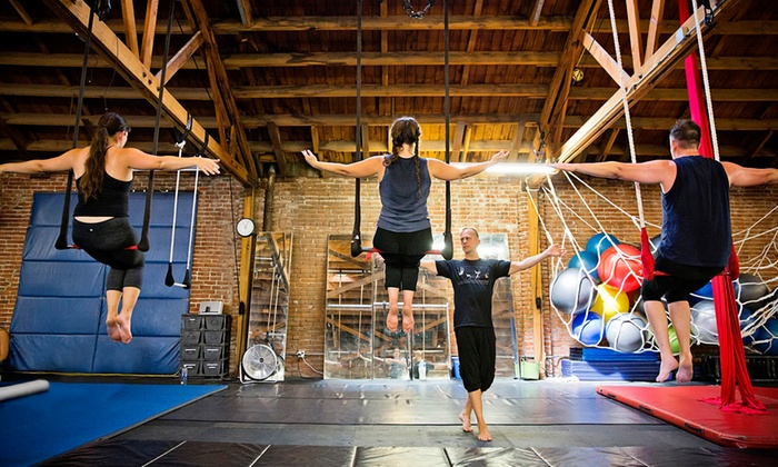 Cirque School - Hollywood: Three or Five Introductory Circus Classes at Cirque School (Up to 46% Off)