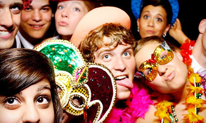 Mojobooths - Northeast - Boston: Four- or Five-Hour Photo-Booth Rental with Unlimited Prints from Mojobooths - Northeast (Up to 54% Off)