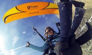 Aeroteam: Vol en parapente biplace pour 1 personne, option photos et vidéo dès 69,90 € chez Aeroteam
