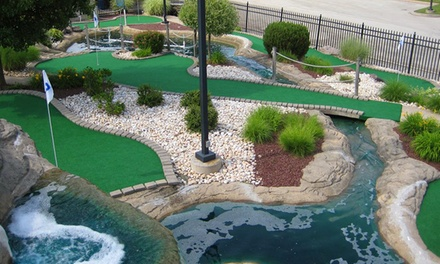 Four, Eight, or Ten Games of Mini Golf on a Weekday or Weekend at Markie's Mini-Golf (Up 54% to Off)