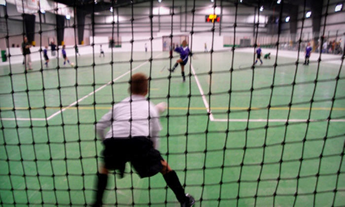 Tualatin Indoor Soccer - Sherwood - Tualatin South: $39 for a Kids' Soccer Package with Four Classes, Registration Fee, and T-Shirt at Tualatin Indoor Soccer ($90 Value)