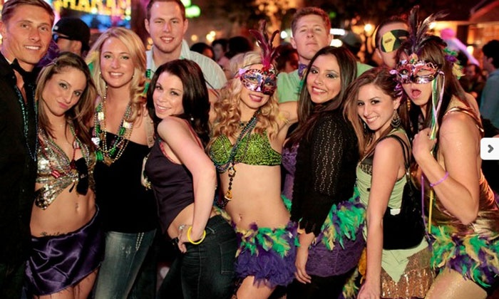 Club VIP - Coyote Ugly: Fat Tuesday Bar Crawl Admission for One or Two from Club VIP on Tuesday, February 9 (Up to 34% Off)
