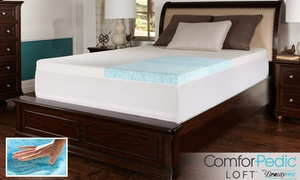 """Comforpedic Loft 3"""" Gel Memory Foam Mattress Topper From Beautyrest. Multiple Sizes Available From $79.99–$179.99."""
