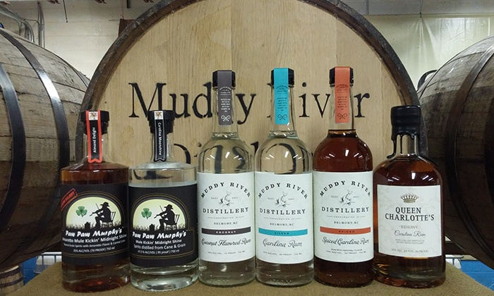 Muddy River Distillery - Dixie - Berryhill: Distillery Tour for 2 or 4, Including Rum Tasting and Shot Glasses at Muddy River Distillery (Up to 60% Off)