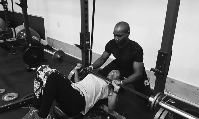 The Rock Solid Fitness LLC - Baltimore: Eight Personal Training Sessions at The Rock Solid Fitness LLC (65% Off)