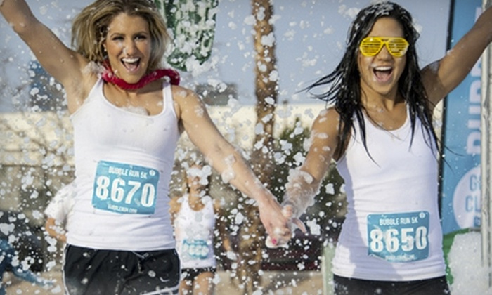 The Bubble Run - Las Vegas: $24.99 for the 5K The Bubble Run on Saturday, April 27, at 9 a.m. (Up to $50 Value)