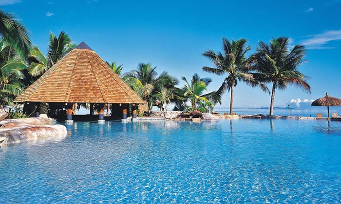 Island Stay with Airfare - Matangi Island: Seven- or Nine-Day Fiji Stay with Roundtrip Airfare, Accommodations, and Some Meals from Travelscene