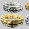 Men's Blackjack Stainless Steel ID Bracelets
