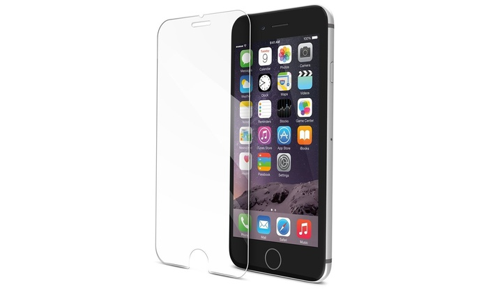 iphone 5 glass tempered iphone screen protector groupon goods 10991
