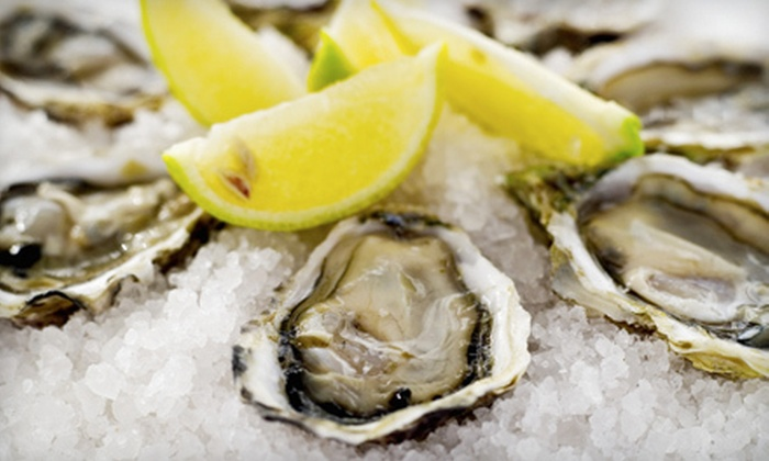 Little Town - Multiple Locations: $29 for an Oyster Lunch with Cocktails for Two at Little Town ($62 Value)