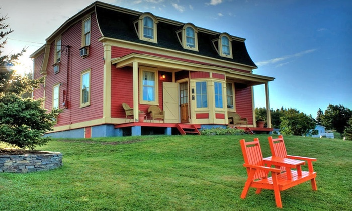 George House Heritage Bed and Breakfast - Dildo: $99 for a One-Night Stay at George House Heritage Bed and Breakfast in Newfoundland (Up to $174 Value)