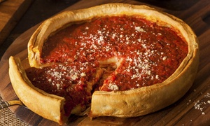 Black Mountain Mill & Pizzeria: 18-Inch Pizza with Salad or 40-Inch Pizza with Salad at Black Mountain Mill & Pizzeria (Up to 43% Off)