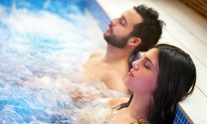 Modelage et bain à remous pour 2 personnes