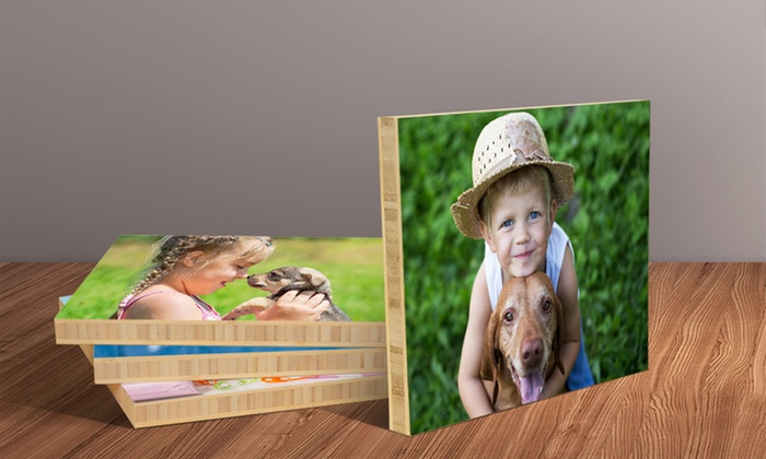 BambooPrints.com: Custom Photos on Bamboo from BambooPrints.com (Up to 86% Off). Five Sizes Available.