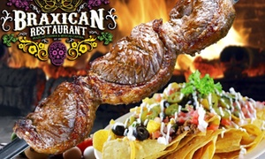 BraXican Restaurant: Up to 48% Off Brazilian and Mexican Cuisine at BraXican Restaurant