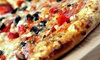 Rivermont Pizza - Lynchburg: $19 for One 12-Inch Pizza, Appetizer, Salad, and Dessert for Two at Rivermont Pizza ($34 Value)