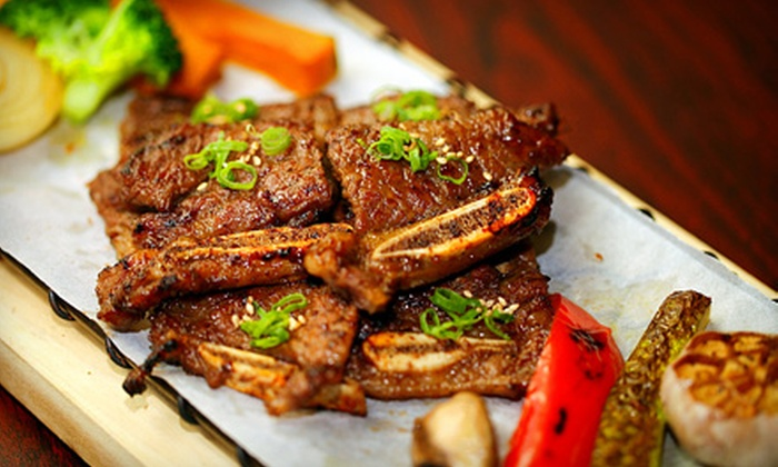 Asian fusion and korean cuisine bull asian bistro groupon for 50 fifty asian fusion cuisine