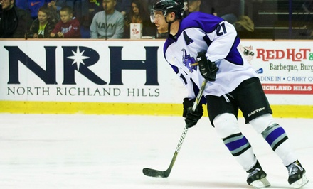 Lone Star Brahmas Hockey Game at NYTEX Sports Centre (Up to 50% Off). Two Seating Options.