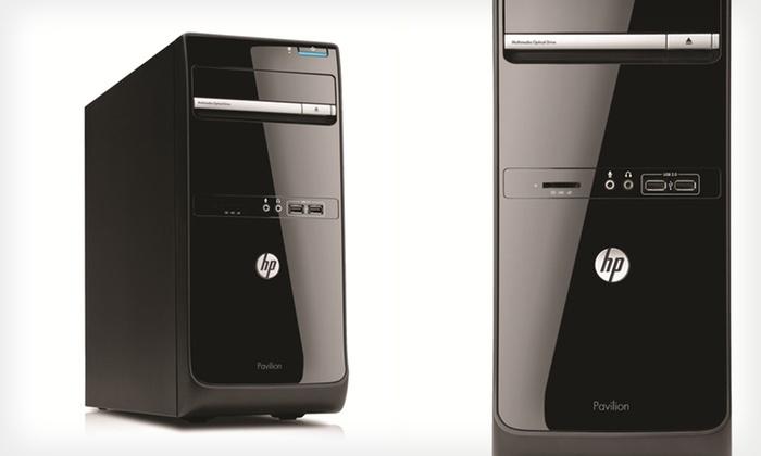 HP Pavilion P6-2317C Desktop: $339.99 for an HP Pavilion P6-2317C Desktop (Manufacturer Refurbished) ($494.99 List Price). Free Shipping and Returns.